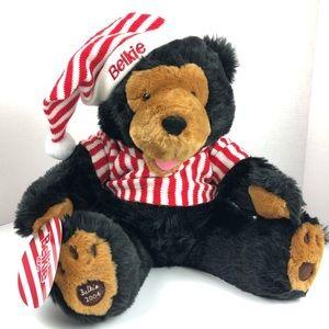 Belkie Bear Christmas Plush 2004
